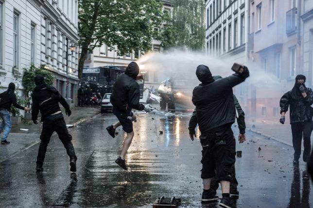 Hamburg, 2017 júliusaForrás: AFP/NurPhoto/Nicolas Liponne