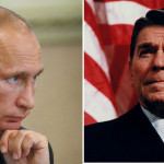 Putyin Reagan kottáját követi