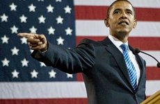 Terrorista gépnek nézték Obama elnöki repülőjét