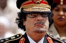Kadhafi feje