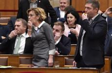 Nagyon durva botrány a Parlamentben