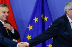 Orbán keményen Juncker tyúkszemére lépett