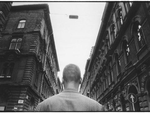 Fotó: Benkő Imre: Szív utca, Budapest, 1988
