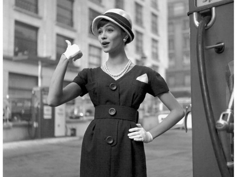 Fotó: Georges Dambier: Anna Karina, 1959 © Georges Dambier
