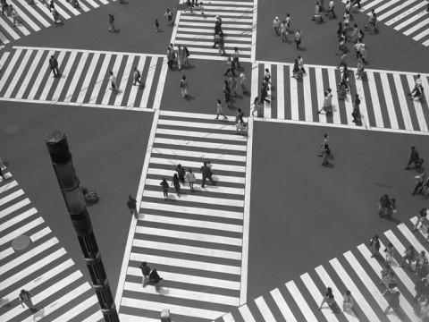 Fotó: Peter Marlow: Tokyo, 1997. ( Magnum Photos )