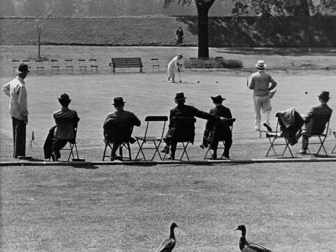 Fotó: Wolfgang Suschitzky: Hurlingham Club, London, 1939 © Wolfgang Suschitzky