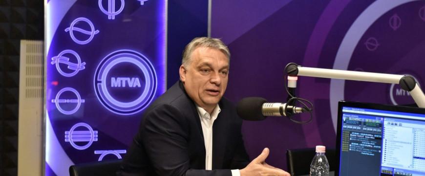 Orbán Viktor: Soros György áll az EP-határozat hátterében