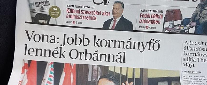 Vona vs. Orbán