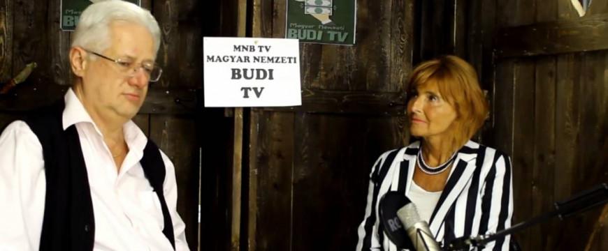"""Lendvai Ildikó: """"Ki a budiból, de be a Budi TV-be!"""""""