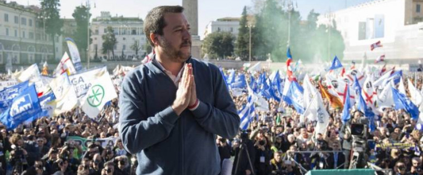 Salvini az Orbáni úton