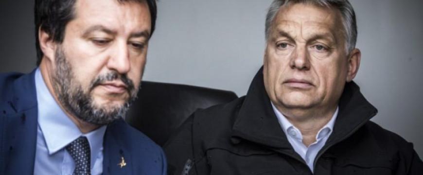 Orbán Viktor Rómában tart kongresszust Salvinivel