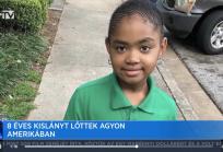 Sokkolta Amerikát a nyolcéves kislány halála