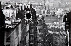 Fotó: André Kertész: Törött üveg, Párizs, 1929