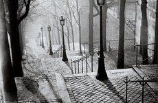 Fotó: Brassaï: Les Escaliers de Montmartre, Paris, 1936