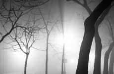 Fotó: Andre De Dienes: Fog, Paris at Night, 1936 © Andre De Dienes