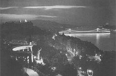 Fotó: Dulovits Jenő: Budapesti alkonyat, 1930-as évek vége © Fejér Zoltán gyűjteménye