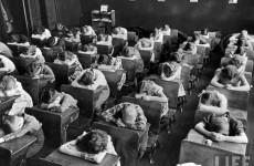 Fotó: Alfred Eisenstaedt: Általános iskola, Mining Town, Pennsylvania, 1943