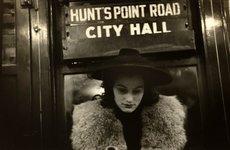 Fotó: Walker Evans: Subway Passenger, New York, 1938-41