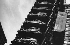 Fotó: John Gutmann: Liftgarázs, Chicago, 1936