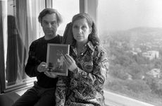 Fotó: Keleti Éva: Ruttkai Éva és Latinovits Zoltán az otthonában, 1971