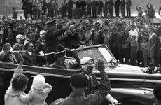 Fotó: Markovics Ferenc: Gagarin Budapesten, 1961. augusztus