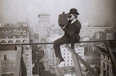 Fotó: Underwood and Underwood: Above Fifth Avenue, Looking North, 1905 © The Museum of Modern Art, New York / The New York Times Collection