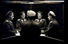Fotó: Stanisław Ignacy Witkiewicz: Többszörös önarckép tükörben, Szentpétervár, 1915-1917